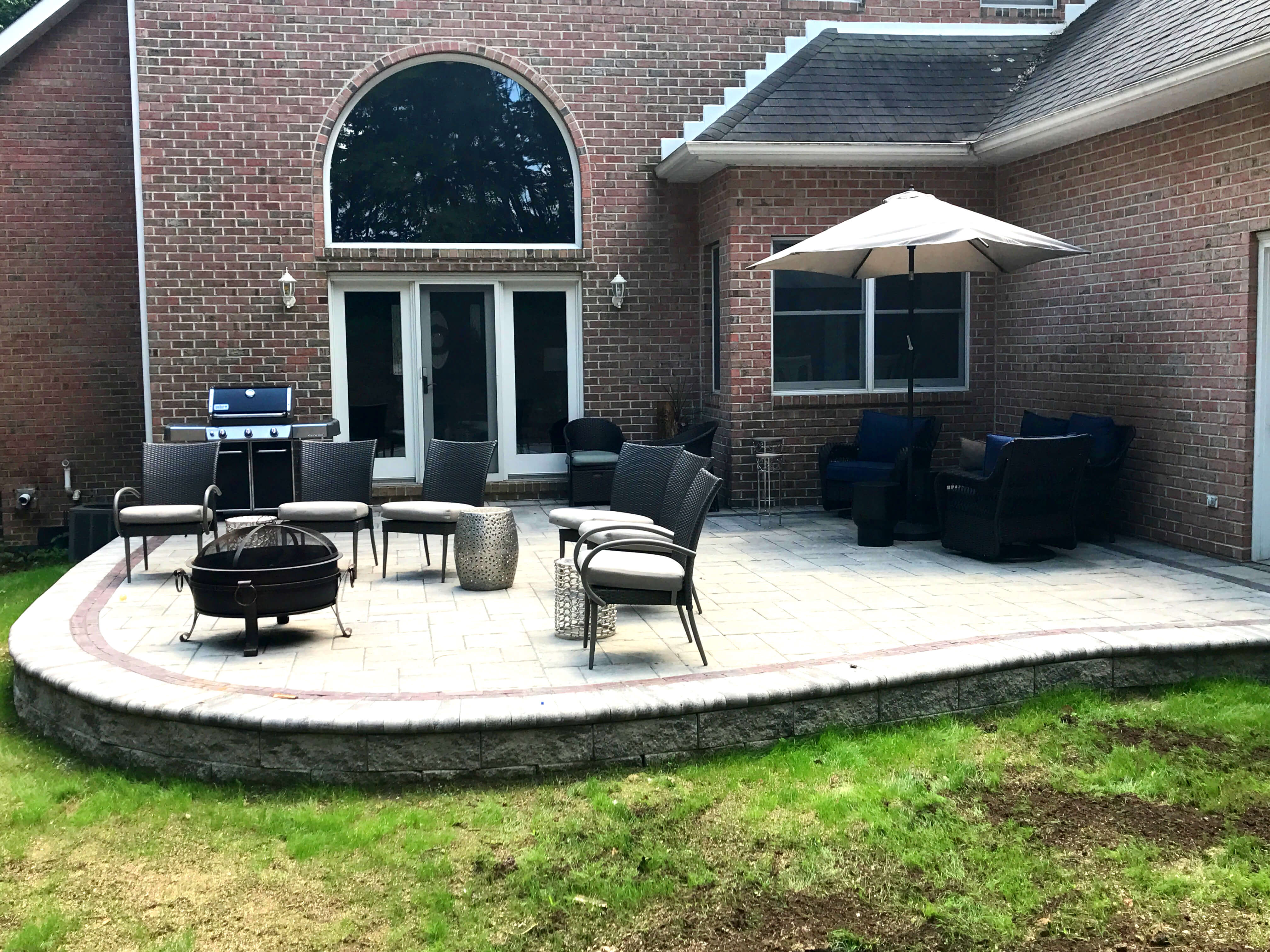 this pavers bluestone stones pergola gravel landscape easy on simple dramatic photograph paths and see dining a make pacific gardenista tessier palisades stepping patio visit art pictures more pebbles by mark pieces for impact posts above of garden architect large gray